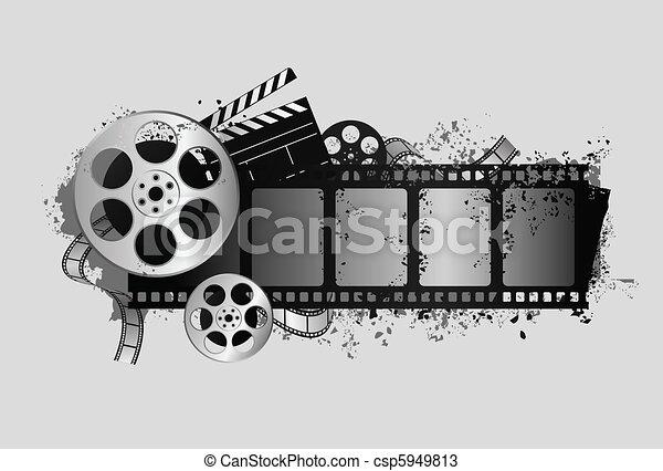 film related design - csp5949813