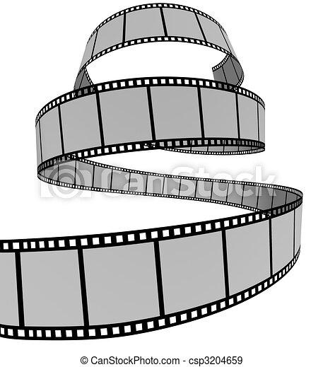 Film Strip - csp3204659