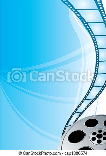 Film strip - csp1386574