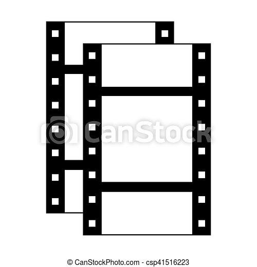 film strip icon - csp41516223