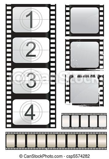 film strip  - csp5574282