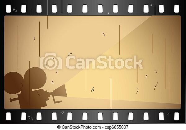 Film Strip - csp6655007