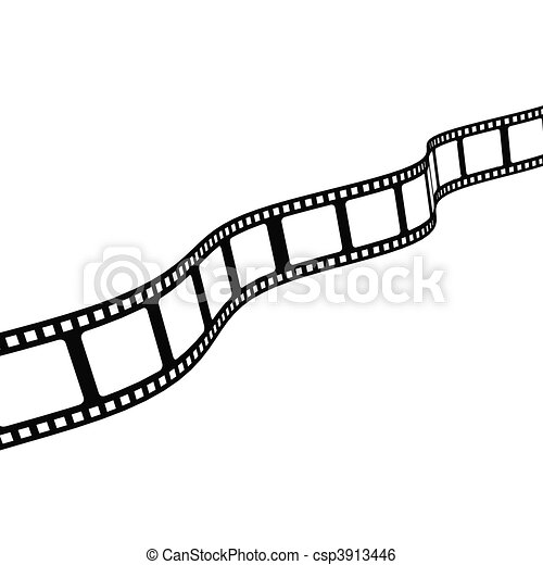 a diagonal curved film strip stock illustration search clip art rh canstockphoto com film strip clipart png film strip clipart png