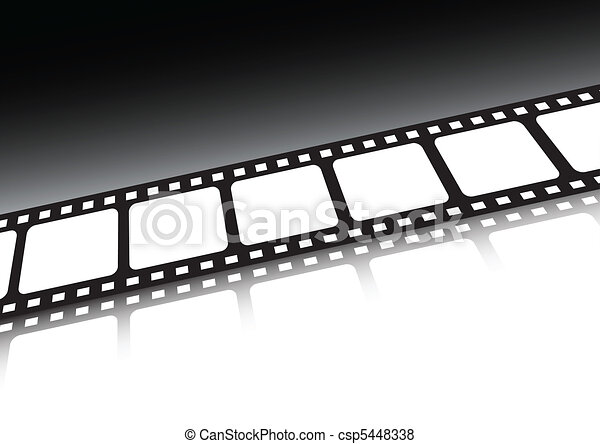 Film strip vector background illust - csp5448338
