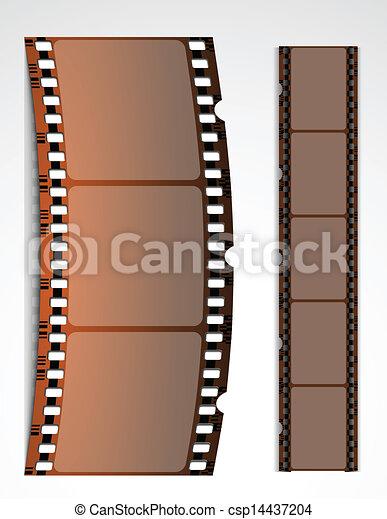 Film strip - csp14437204