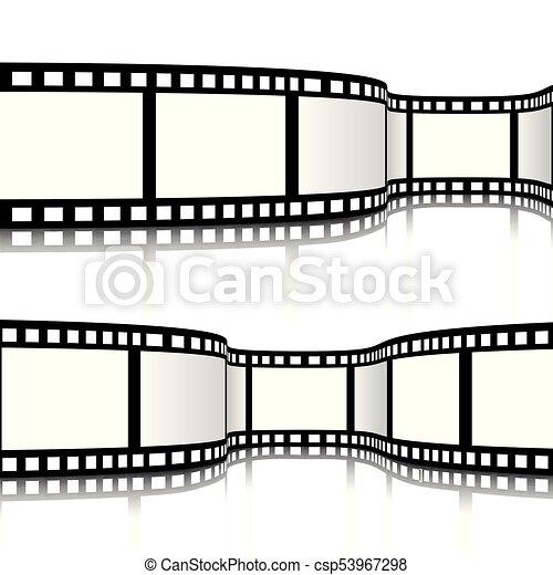 Film strip vector illustration - csp53967298