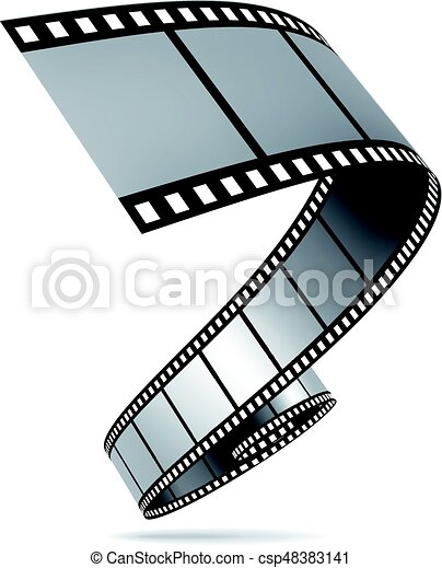Film strip vector illustration - csp48383141