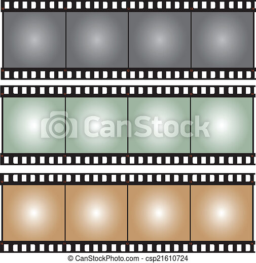 film strip vector illustration - csp21610724