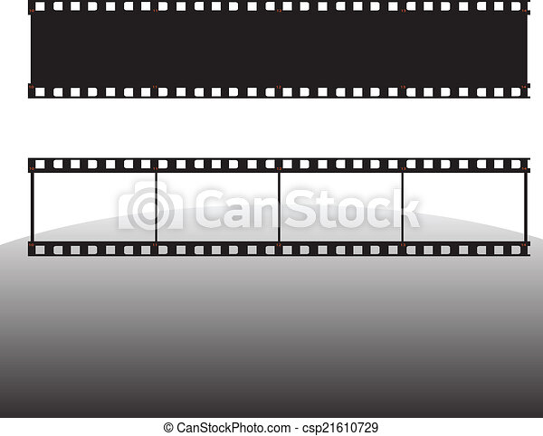 film strip vector illustration - csp21610729