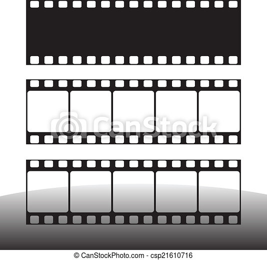 film strip vector illustration - csp21610716