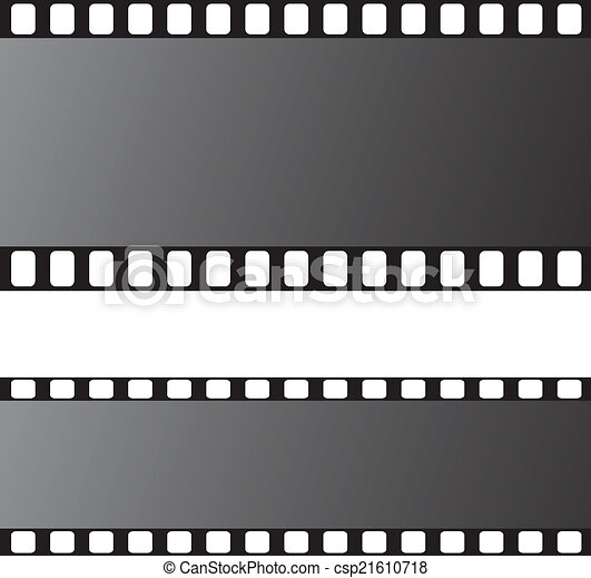 film strip vector illustration - csp21610718