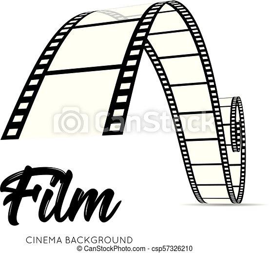 Film strip vector illustration - csp57326210
