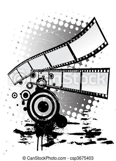 film stripes - csp3675403