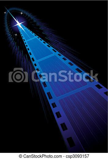 Film strips background - csp3093157