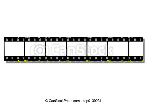 Film Strips (Clip Path) - csp0139231