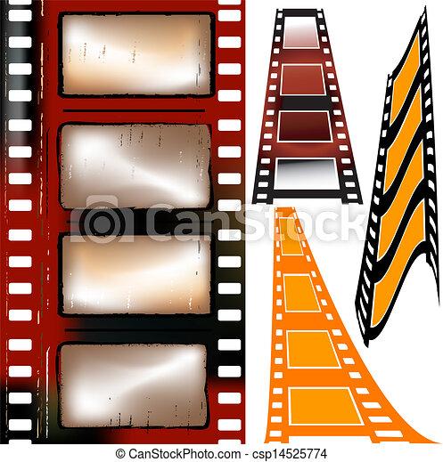 film strips - csp14525774