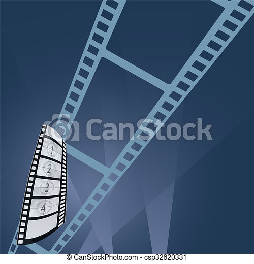 film tape entertainment vector illustration - csp32820331