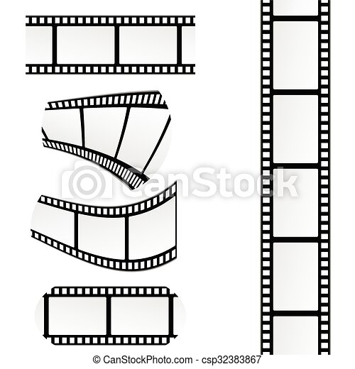 film tape vector illustration - csp32383867