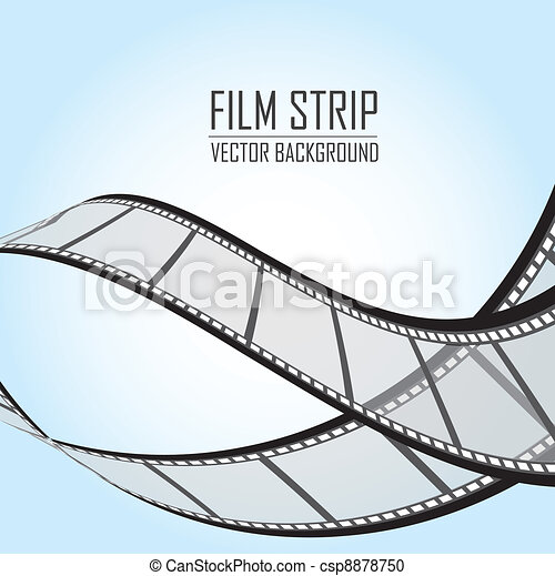 Film Strip - csp8878750