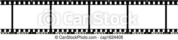 Strip de cine - csp1624408