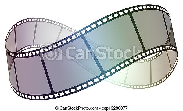 Strip de cine - csp13280077