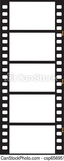Strip de cine - csp6569513