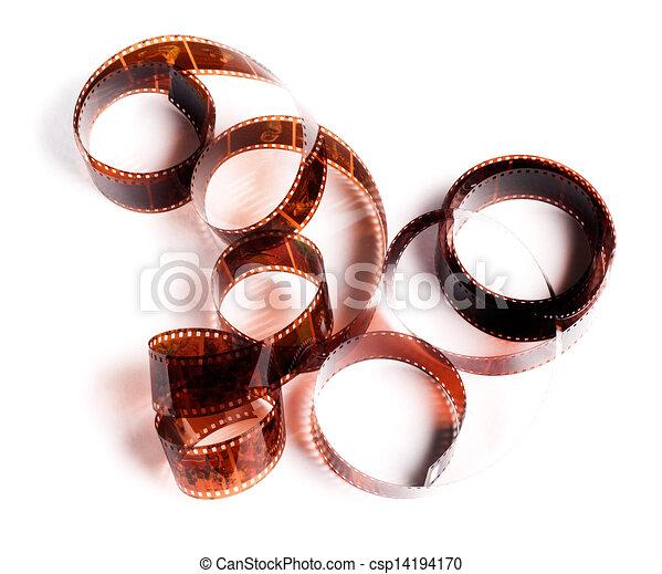 films, brun, deux, négatif - csp14194170