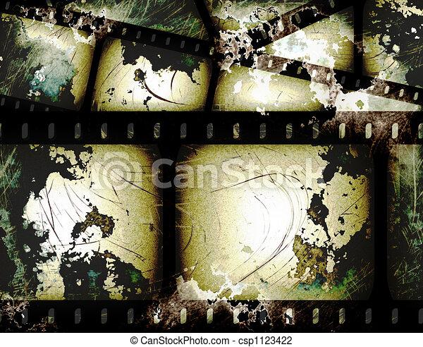 filmstrip, abstrakt - csp1123422