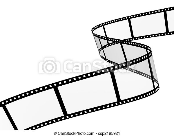 filmstrip 3d abstract photographic film object over white rh canstockphoto com film strip clip art free film strip clipart border