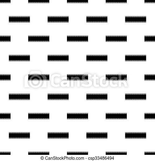filmstrip, seamless, grafické pozadí - csp33486494