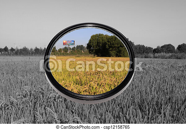 filters lense - csp12158765