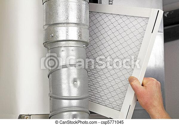 filtro, lar, ar, substituição - csp5771045