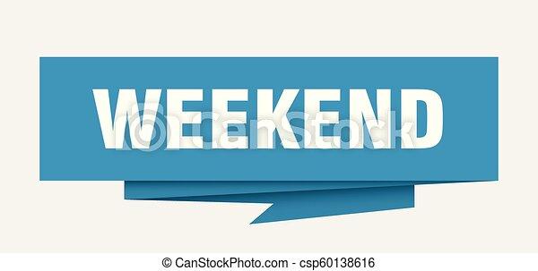 Fin de semana - csp60138616