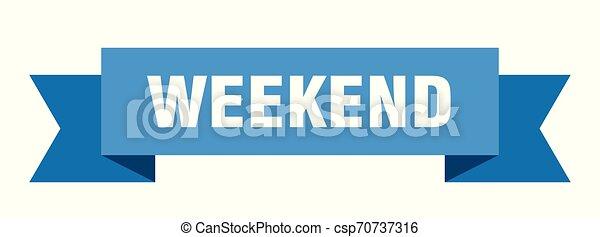 Fin de semana - csp70737316