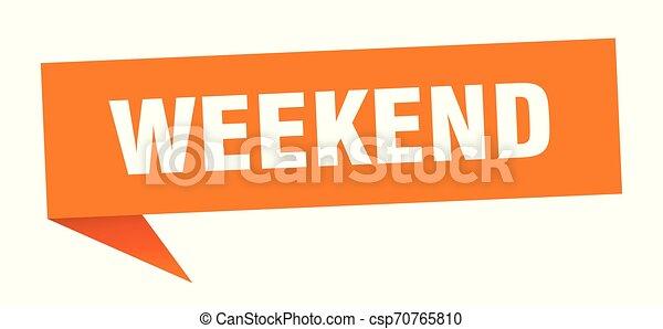 Fin de semana - csp70765810