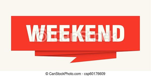 Fin de semana - csp60176609