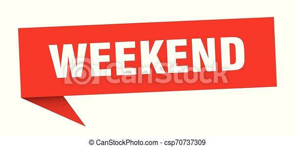 Fin de semana - csp70737309