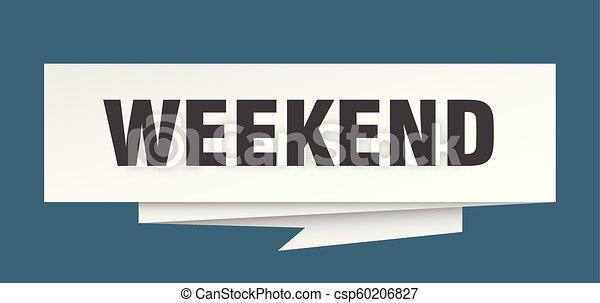 Fin de semana - csp60206827