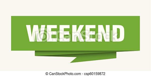 Fin de semana - csp60159872