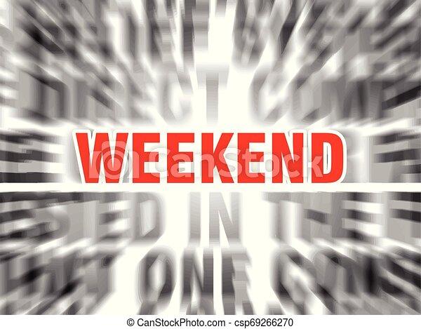 Fin de semana - csp69266270