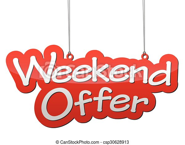 Oferta de fin de semana - csp30628913