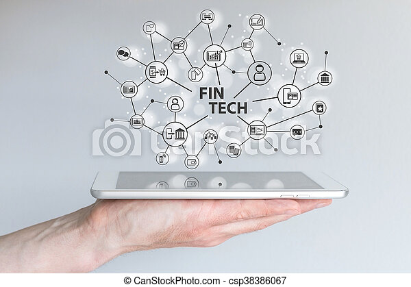 Fin Tech and mobile computing - csp38386067