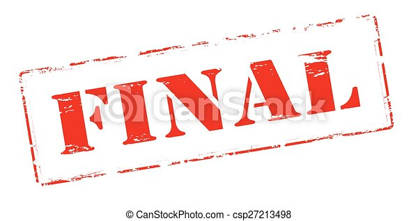 final rubber stamp with word final inside vector illustration