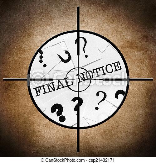 FInal notice - csp21432171