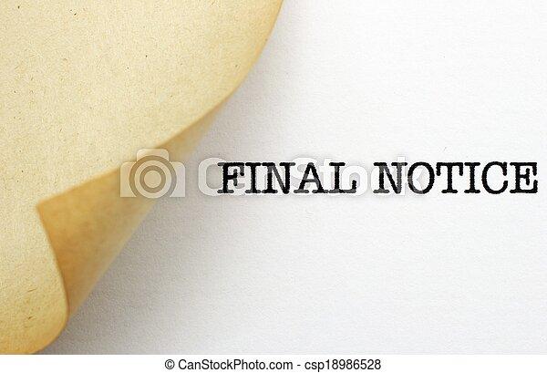 Final notice - csp18986528