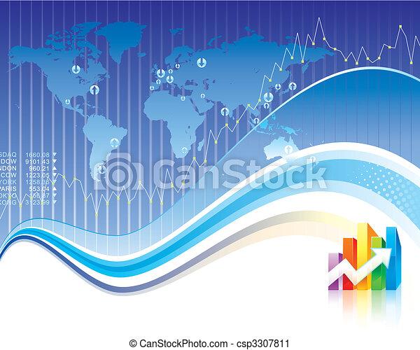 finanças globais - csp3307811