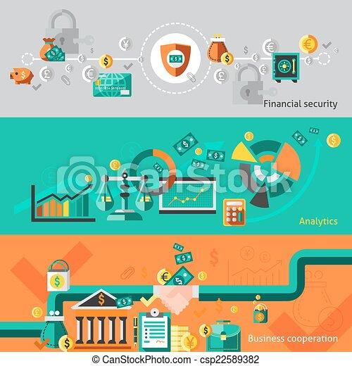 Finance banner set - csp22589382