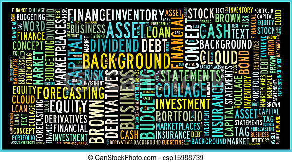 Finance Concept in Word Collage - csp15988739