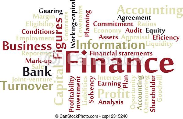 Finance - csp12315240