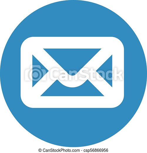 Finance icon. Vector illustration isolated on white background. Mail symbol. - csp56866956